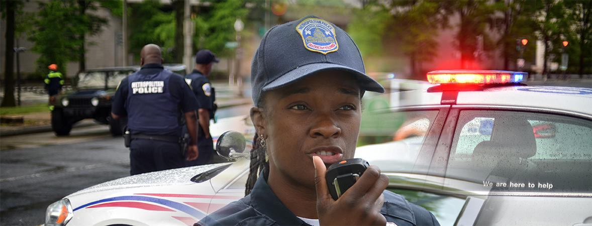 Photo of an officer